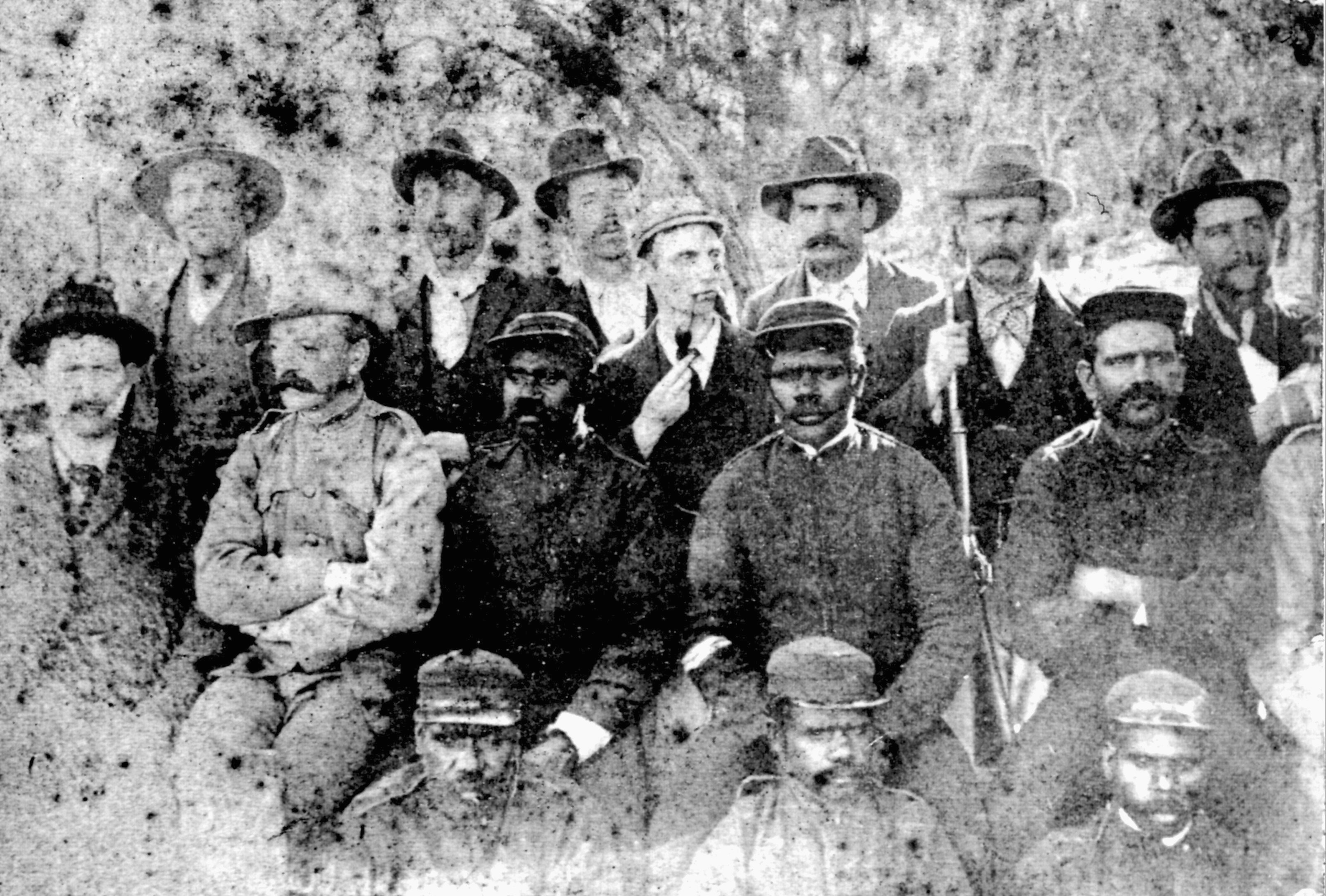 James Gillis McDonald (middle row, 3rd from left)