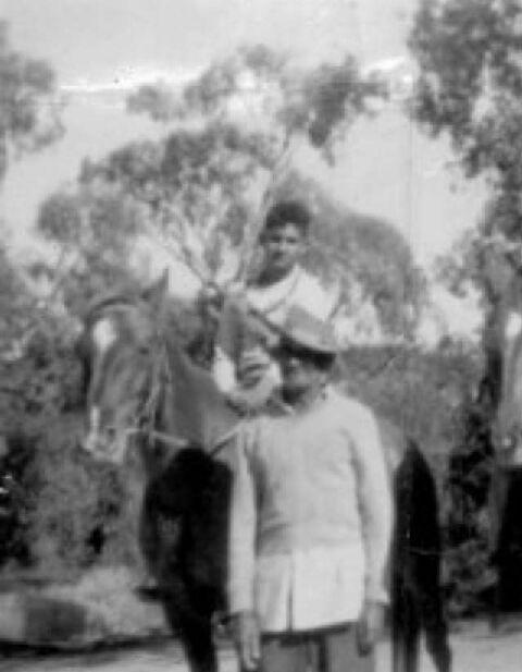 Jack Simpson and Grandson